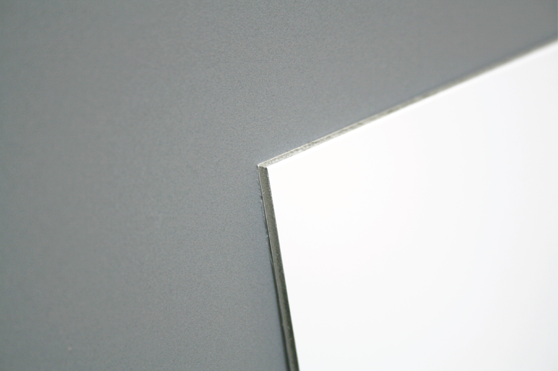 Custom made 450x150mm aluminium composite (3mm)