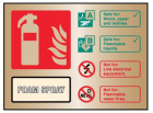 9488 Foam spray extinguisher ID brass 150x200...