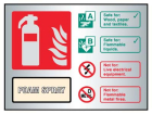 9489 Foam spray extinguisher ID aluminium 150...