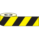 Anti slip tape - black/yellow hazard 18mx50mm