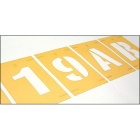 Stencil kit numbers 0-9 300mm