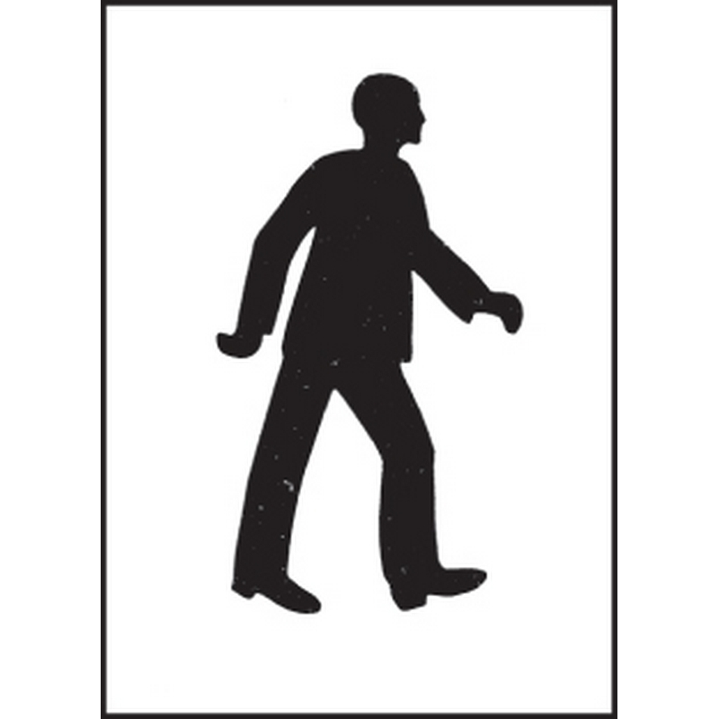Stencil kit 300x400mm - Pedestrian