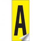 Identification letters A-Z 45x130mm