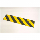 Anti-slip mat black/yellow chevron 610mm x150mm