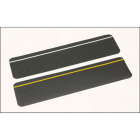 Anti-slip cleat black photoluminescent 610mm x 150mm