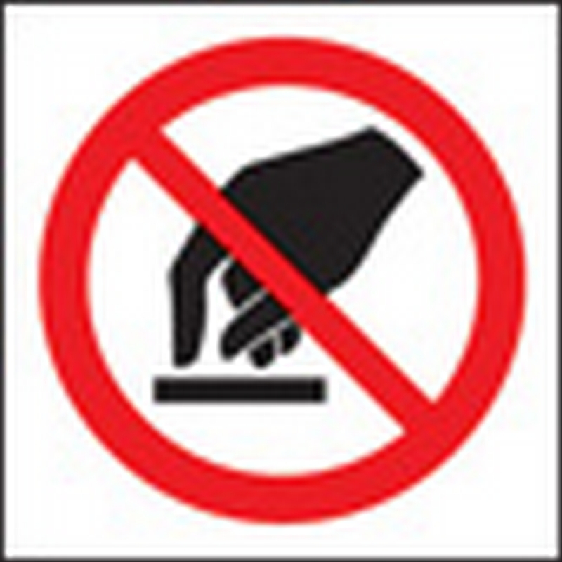 100 S/A labels 50x50mm do not touch