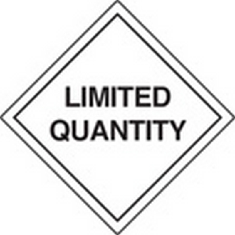 Limited quantity labels 100x100mm roll of 100