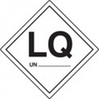 LQ UN labels 100x100mm - roll of 100