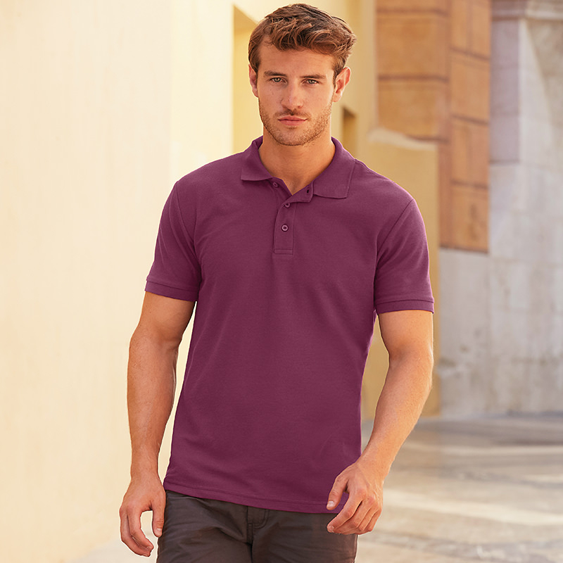 Fruit of the Loom Pique Polo Shirt