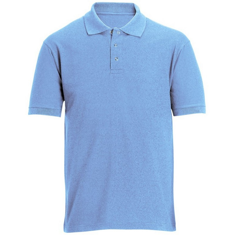 Stud Front Work Polo Shirt