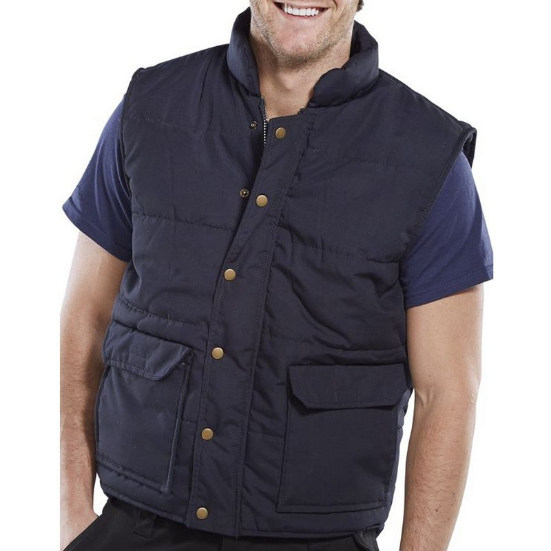 Quebec Navy Quilted Bodywarmer
