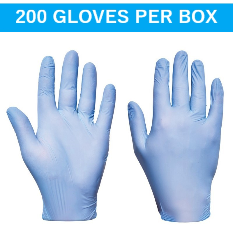 Blue Ultra Nitrile Disposable Gloves