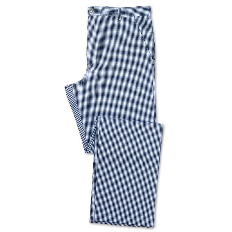 Men's Check Chef Trousers