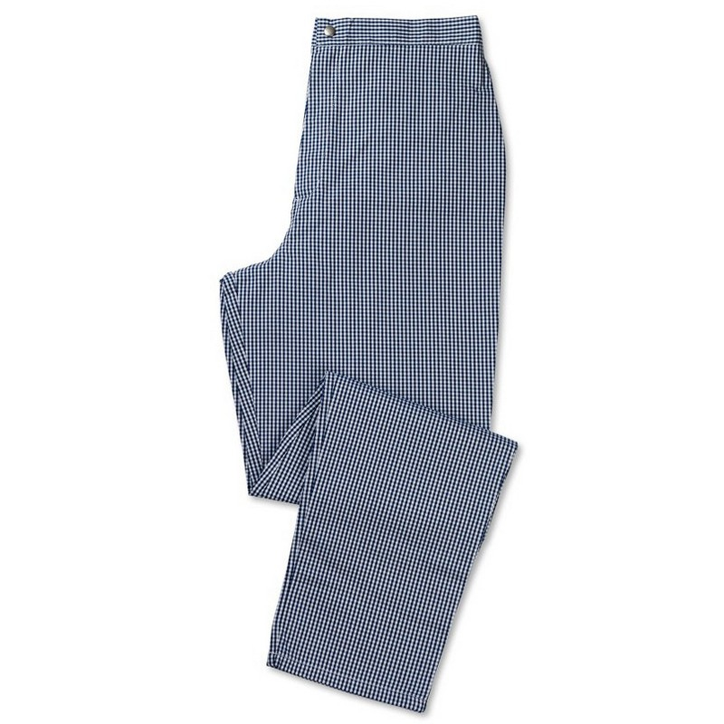 Women's Check Chef Trousers