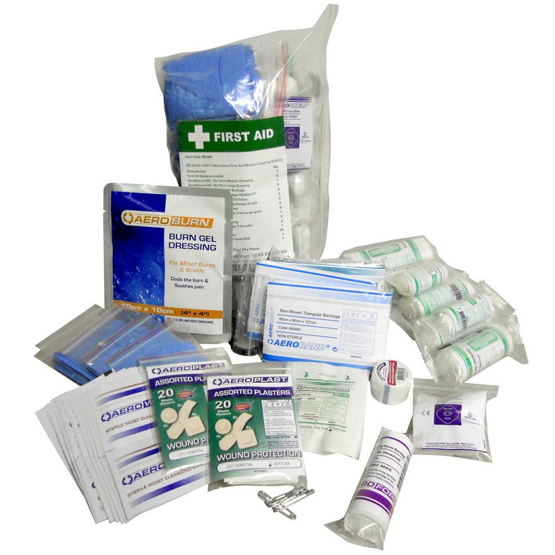 British Standards First Aid Kit Refills