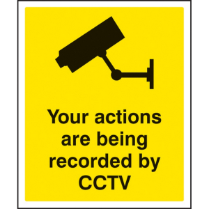 1740 Your actions are being recorded by CCTV