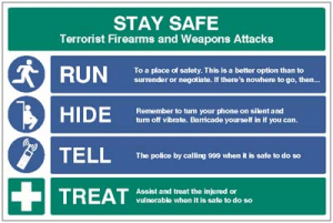 1746 Stay safe - run, hide, tell, treat