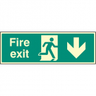 Exit Down Signs