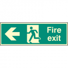 Exit Left Signs