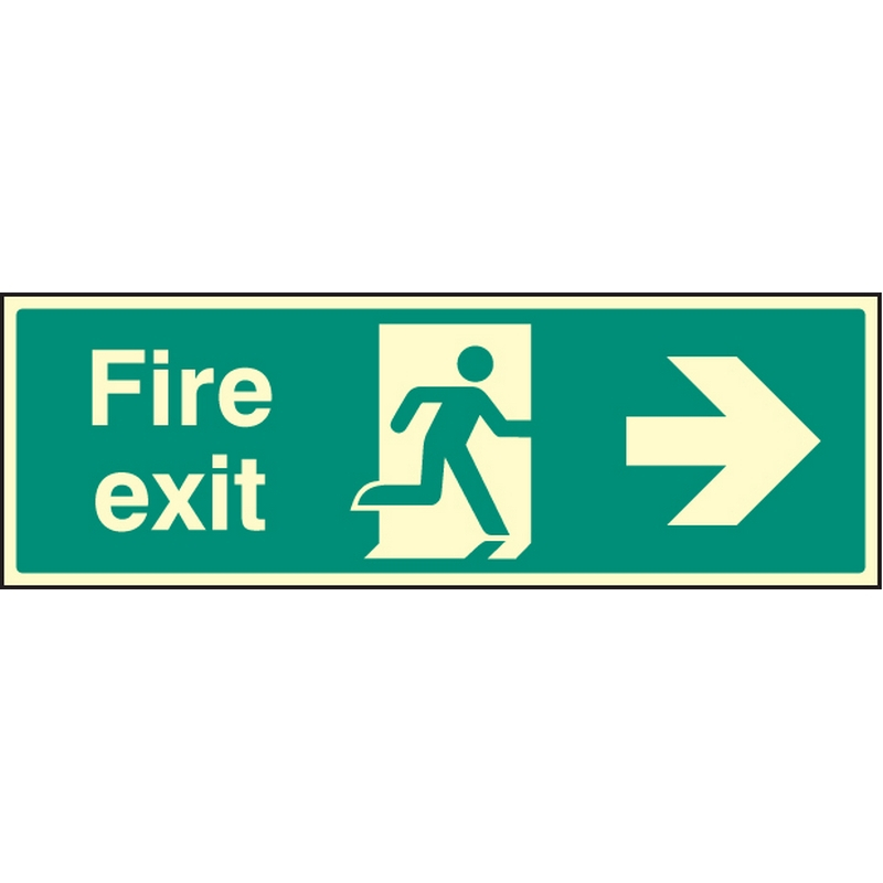 Exit Right Signs