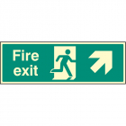 Exit Up and Right Signs