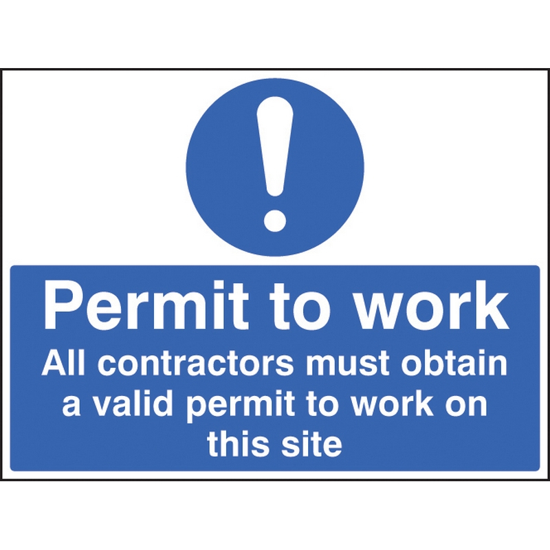 Construction Mandatory Signs