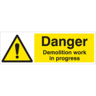 Construction Warning Signs