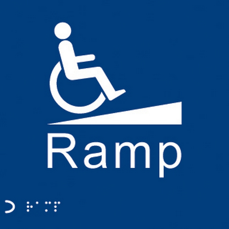 Braille, Tactile and Ramps