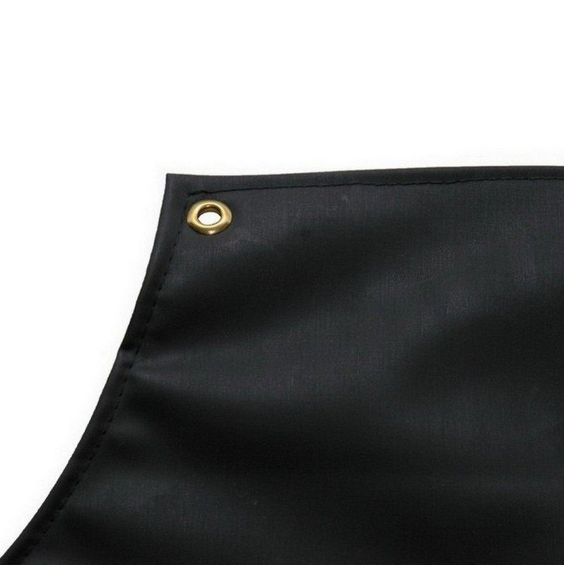 Black Rubber Apron Heavyweight 1200x900mm