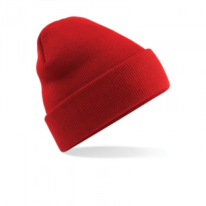 BB45 Original Cuffed Beanie Bright Red
