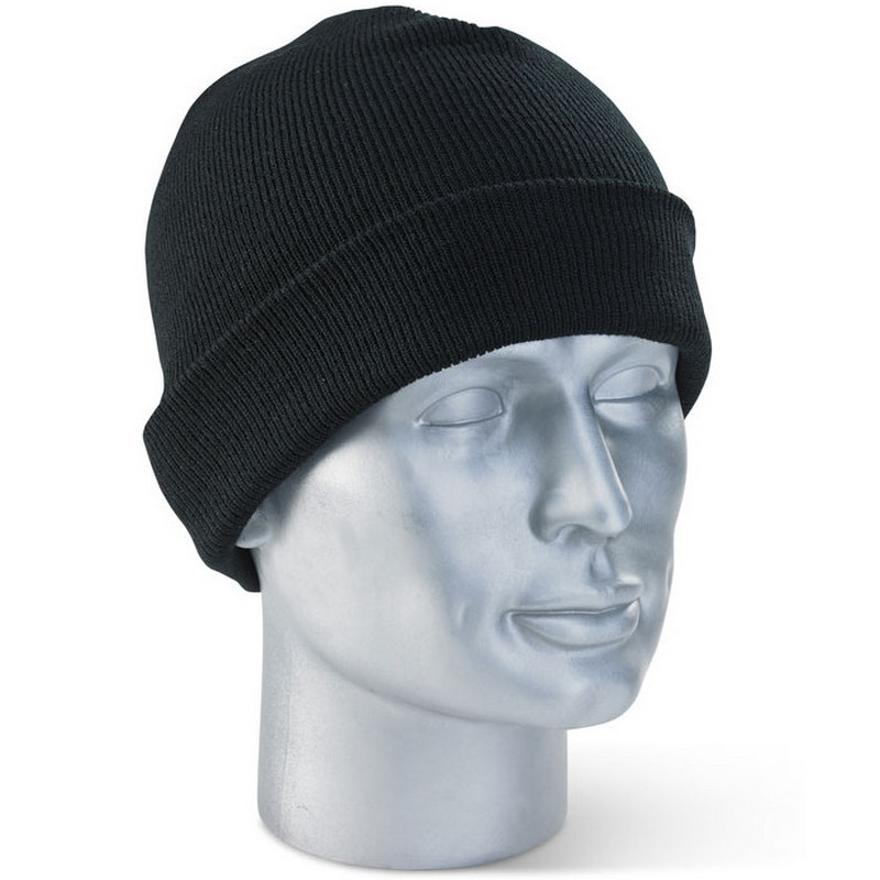 Black Woolly Hat