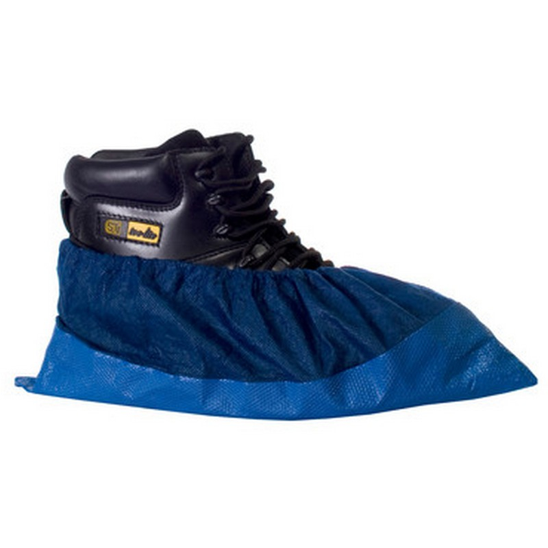 Deluxe shoe cover - Blue in 200 Pairs