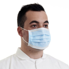 Disposable Non Woven 3ply Face Mask dispenser box of 50