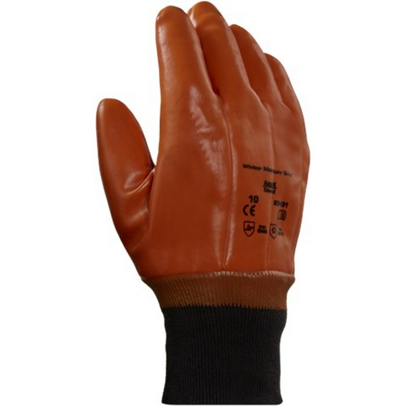 Ansell 23-191 Winter Monkey Grip Glove