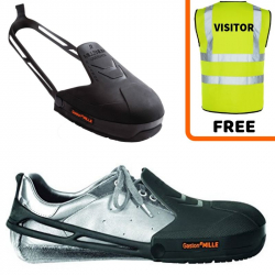 Millenium Pied Protect TPU Safety Overshoe Visitor Pack 5 pairs