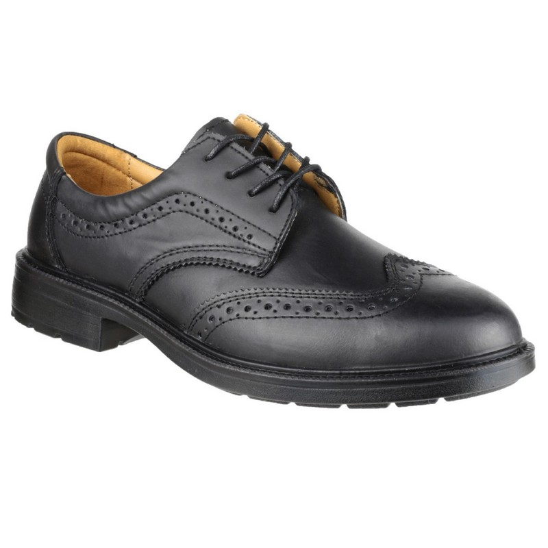Black Brogue Shoe size 14