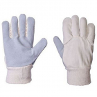 Mens Cotton Chrome Glove