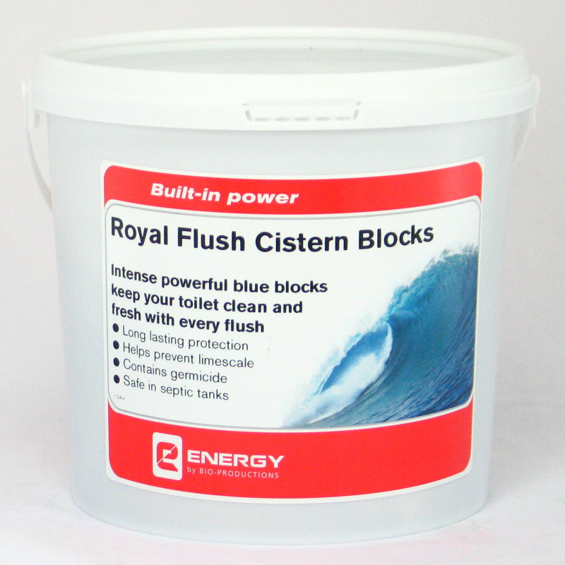 Blue Cistern Blocks Tub