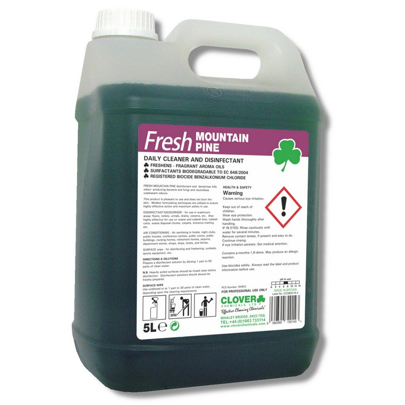 Fresh Mountain Pine Cleaner & Disinfectant