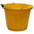 Yellow Plastic Bucket 15 Litre