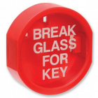 Replacement Panel Plastic Fronted 'Break Glass' Keybox
