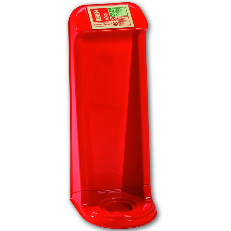 Fire Extinguisher Stand Red - Single