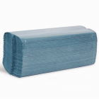 1ply Blue C-Fold Towel