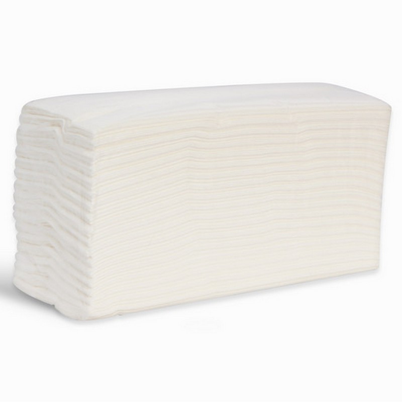 2ply White Luxury C-Fold Towel