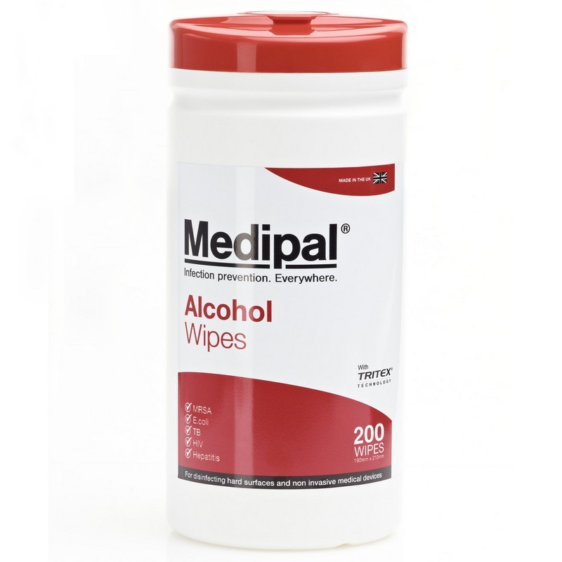 Medipal Alcohol Disinfectant Wipes