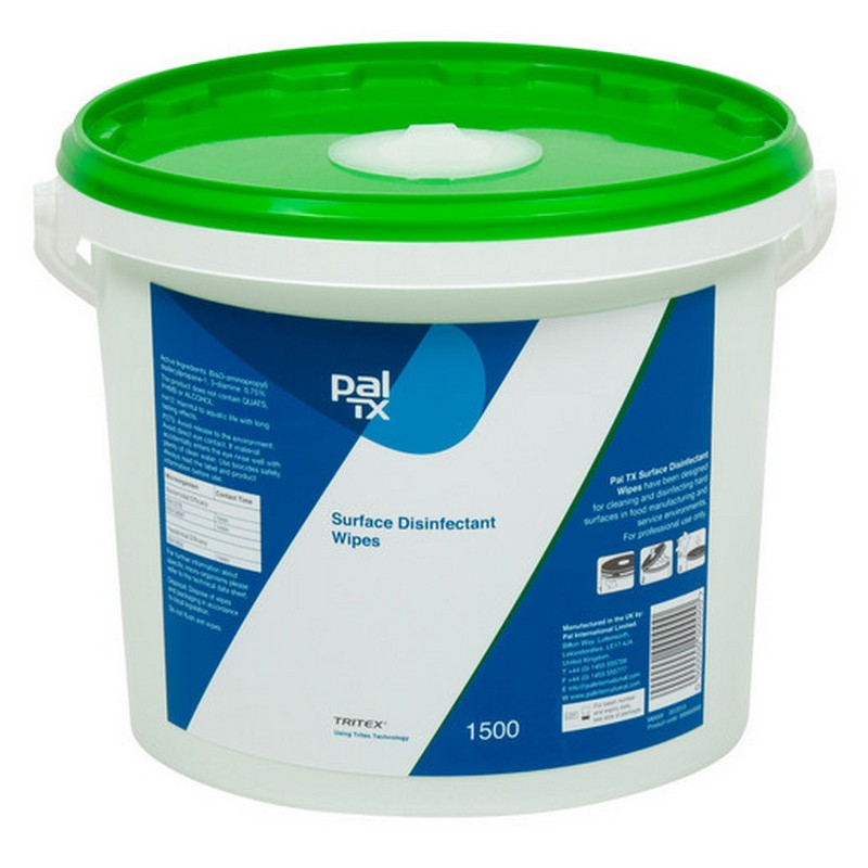 PAL TX Surface Disinfection Wipes