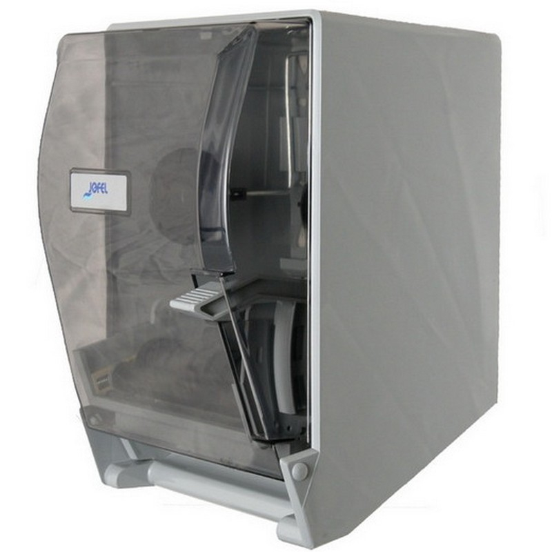 Smoke Front Lever Roll Towel Dispenser