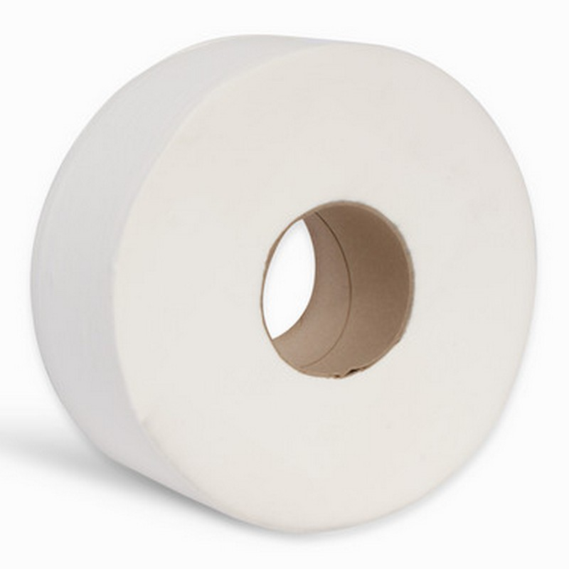 2ply White Midi Jumbo Toilet Roll 3