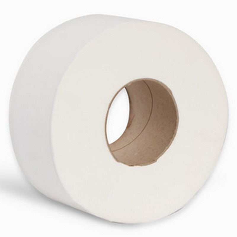 2ply White Mini Jumbo Toilet Roll 3