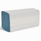 1ply Blue Z-Fold Hand Towel